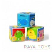 Меки мини кубчета Babyono 894