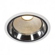 LED DOWNLIGHT PRO R, rond, blanc, 12W, module LED Disk 2700K