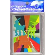 """Pokemon Card Game Deck Shield 3.75"""" x 2.75"""" Trading Card Sleeve 32 count"""