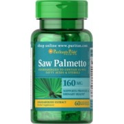 Saw Palmetto Ekstrakt 160 mg / 60 kaps PURITAN'S PRIDE