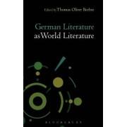 German Literature as World Literature