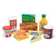 Melissa & Doug 8 Piece Fridge Food Set 4076