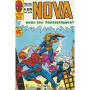 Album Relié Nova N° 23 : Nova N° 82 ( 5 Novembre 1984 ) + Nova N° 83 + Nova N° 84 ( Les 4 Fantastiques / The Fantastic Four + Peter Parker, Alias L'araignée / Spider-Man+ Iron Man + La Chose )