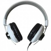 Слушалки с микрофон MAXELL RETRO DJ2 с големи наушници, Бял - ML-AH-RETRO-DJ2-WH