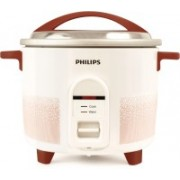 Philips HL1664/00 Electric Rice Cooker(2.2 L, Red, White)