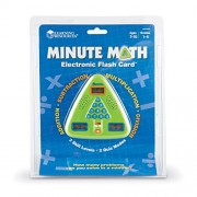 Learning Resources - Flash Card elettronica Minute Math [Lingua inglese]