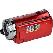 """ordro dv-108 câmera de vídeo digital 720p 2.7 """"CMOS ecrã TFT-LCD detecção de rosto sensor de anti-shake"""