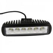LED-arbetsljus 18W Epistar 12V 1320lm - Smal