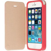 Krusell Malmo Flip Cover Case for iPhone 5/5S (Red)