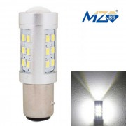 MZ 1157 4.2W 630lm Luz blanca del freno del coche 21-LED Corriente constante