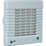 Fürdőszobai elszívó ventilátor 125AZT zsaluval időzítővel Siku