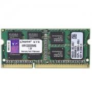 8GB DDRIII PC10600 1333MHz Kingston SODIMM KVR1333D3S9/8G