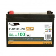 Batería 100 Amperios AGM Inovtech-powerlib