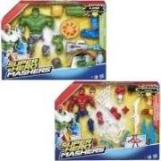 Hasbro - Set di costruzione supereroi, modelli assortiti