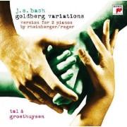 Tal & Groethuysen - Bach: Goldbergvariationen (0886975269624) (1 CD)