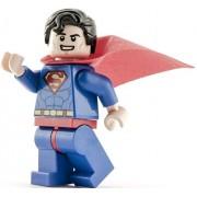 Genuine Lego DC Super Heroes Superman Minifigura sonriente - Split de Juniors 10724 Set
