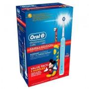 Pachet Periuta Electrica Oral B 500 + Periuta Electrica Pentru Copii Mickey Mouse