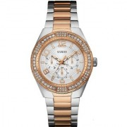 GUESS Multi Stainless Steel Round Dial Analog Watch For Women (W0729L4)