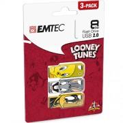 Stick USB 8GB USB 2.0 LT01 P3 EMTEC