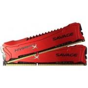 Memorija Kingston 16 GB DDR3 1600MHz HyperX Savage Red (2x8GB kit), HX316C9SRK2/16
