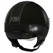 Casco Moto Donna Jet Max Posh Shiny Black