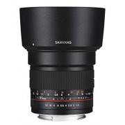 Samyang 881702 Objetivo para Sony-E (diámetro: 85 mm, F1.4) negro