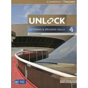 Unlock Level 4 Listening and Speaking Skills Student's Book and Online Workbook by Lewis Lansford