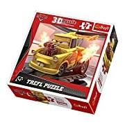 Trefl Dynamic 3D Jigsaw Mater Disney Cars 2 (48 Pieces)