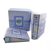 Set albume foto tip carte - coperti albastre