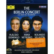 Placido Domingo, Anna Netrebko, Rolando Villazon - The Berlin Concert: Live From Waldbuhne (0044007344910) (1 BLU-RAY)