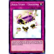 Yu-Gi-Oh! - Aqua Story - Urashima (DRL2-EN045) - Dragons of Legend 2 - 1st Edition - Super Rare by Yu-Gi-Oh!