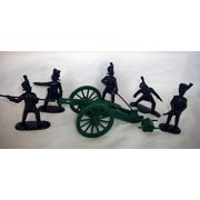 Napoleonic French Old Guard Artillery offered by Classic Toy Soldiers Inc/Armies in Plastic