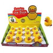 1 Dozen Ducks Wind-Up Mini Duckies Party Favors (Pack Of 12)