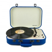Crosley Coupe - Bluetooth Turntable with Pitch control - Blue