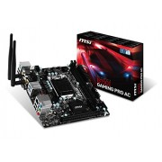 MSI B150I Gaming Pro/AC Scheda Madre Intel 1151, Nero