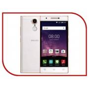 Сотовый телефон Philips X586 Xenium Champagne White