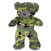 8 Recordable Camoflauge Military Bear w/ 10 Second Recorder