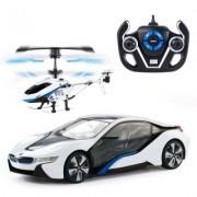 Радиоуправляема кола и хеликоптер BMW Speed Twins