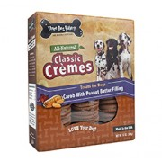 CLASSIC CREMES FOR DOGS (Carob with Peanut Butter Filling) (13oz) 369g
