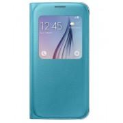 Husa tip S-View Samsung Cover EF-CG920PLEGWW pentru Samsung Galaxy S6 SM-G920F - Blue