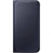 Samsung Pokrowiec na telefon Samsung Flip Wallet PU EF-WG920PBEGWW, Pasuje do modelu telefonu: Samsung Galaxy S6, czarny