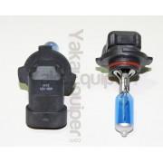 Pack Ampoule H10 Effet Xenon - Super White 5000K