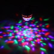 dodorm (TM) Full Color Control Automático de rotación Bombilla LED con interfaz USB LED de 3 W portátil DJ KTV Dancing Hall Familia partes RGB Luz de la etapa
