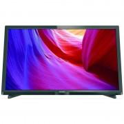 Televizor Philips LED 24PHH4000 HD Ready 60cm Black