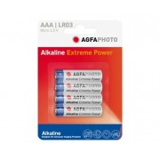 Pilas Alcalinas AAA Agfaphoto AAA pack 4uds (LR03)