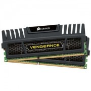 Memorie Corsair Vengeance Black 16GB (2x8GB) DDR3, 1600MHz, PC3-12800, CL9, Dual Channel Kit, CMZ16GX3M2A1600C9