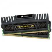 Memorie Corsair Vengeance Black 16GB (2x8GB) DDR3, 1600MHz, PC3-12800, CL9, Dual Channel Kit, CMZ16GX3M2A1600C9