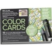 Carte de colorat - Chameleon Floral Patterns