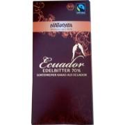 Ciocolata bio amaruie Ecuador 70% cacao