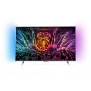 "Телевизор Philips 55"" UHD TV, 55PUS6401/12 DVB-T2/C/S, Android, Ambilight 2, Pixel Plus UHD, 1000 PPI, 20W, Dark Silver"
